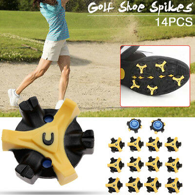14Pcs Golf Shoe Spikes Champ Cleat Fast Twist Tri-Lok Replacement For Footjoy