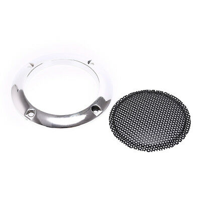 66mm silver speaker protective grille circle with protective black iron meshFE