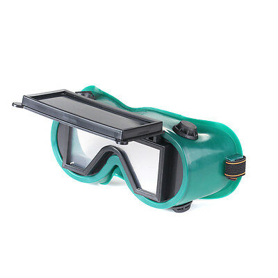 Square Glasses Flip Up Lense Soldering Welding Cutting Welders Safety Goggles