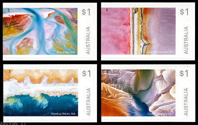 2018 Art in Nature - Set of 4 Self Adhesive Booklet Stamps - MUH