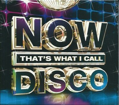 Now That's What I Call Disco (2013) Cofanetto 3 CD NUOVO Trammps. Village People