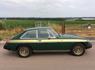 Mgb gt jubilee classic car mg golden jubilee special edition