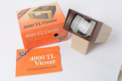 "Boots 4000TL 2x2 Slide Viewer for 35mm slides / any that fit 2"" square Mount"