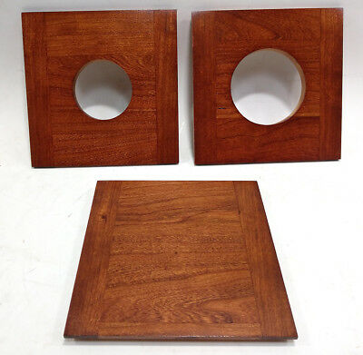 """1 Wooden lens board 5.5x 5.5"""" to KORONA 12x20"""" Camera, made of solid Cherry Wood"""