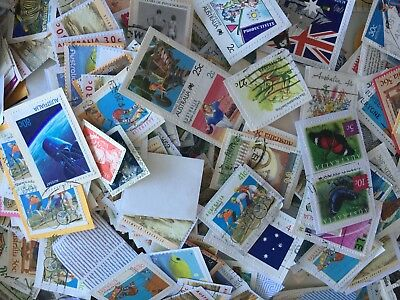 Australian Stamps mixed denominations up to $1 Stamp Bulk Kiloware 2.4kg