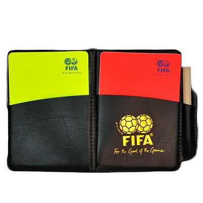 1 Pc Football Referee Red And Yellow Card Picture Color Outdoor Sports Equipment
