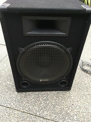"skytec CSB15 800 Watt active speaker 15"" woofer"