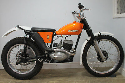 BSA Bantam Trials Bike  Presented in superb condition. Built circa 2010