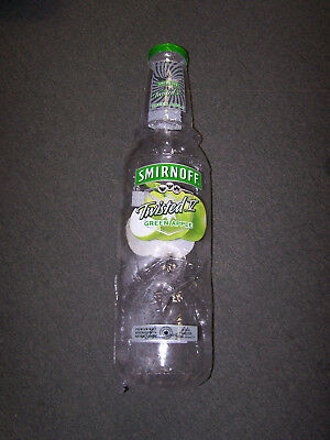 Smirnoff Green Apple Twisted V  Blow Up  Bottle 27 Inch Tall New In The Pack