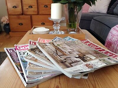 Ideal Home Magazines Collection x 7 Home Inspiration/Decorating Ideas (Set 2)