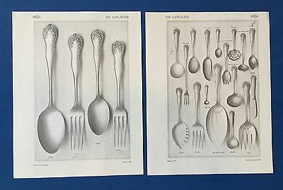 Gorham Lancaster Sterling Flatware Identification Guide Silver Catalog