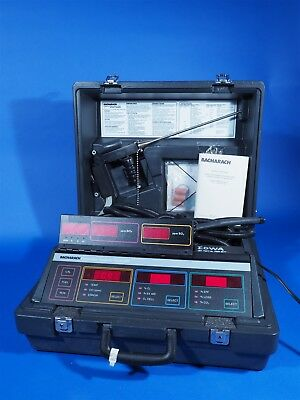 Bacharach Model 300 300NSX NOx SO2 Combustion Analyzer