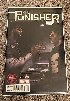 Tim Duncan Comic, PUNISHER #11, NBA Spurs Star w/Concept Car Mint Condition