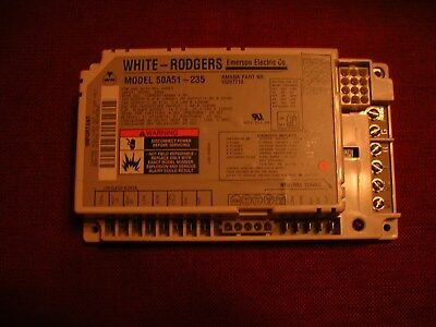New Oem White Rodgers Control Board 50A51-235 Amana 10207713