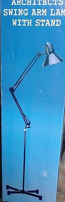 Vintage Mid-Century Swing Arm Lamp Articulating Drafting NEW IN BOX