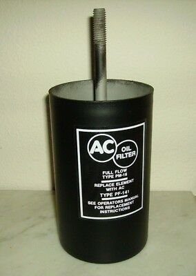 "1958-1967 Oil Filter Canister Small/big Block Corvette Impala Chevelle ""m"" Bolt"