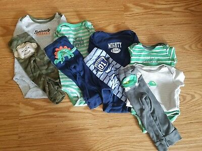 Baby boy 12 months lot, 4 complete outfits, all Carter's great condition!