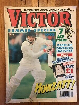 Victor Summer Special 1992 - Holiday Fun And Excitement - Final One - DC Thomson