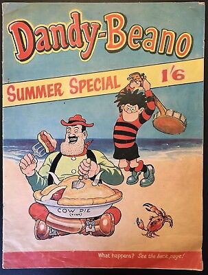 Dandy Beano Summer Holiday Special 1963 - 1st One! - DC Thomson - Dennis And Dan