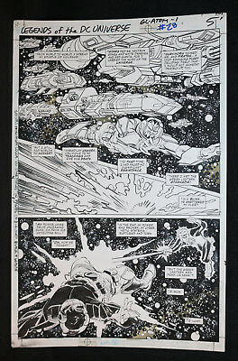 Legends of the DC Universe #28 p.5 - Green Lantern Action - 2000 art by Gil Kane