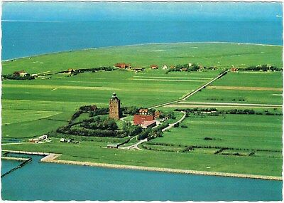 Postcard Germany UNESCO Wattenmeer Insel Neuwerk Island Nordsee North Sea AK pc