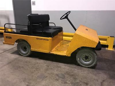 Taylor Dunn R-380 36V 4 Person 4 Wheel Warehouse Utility Truck Cart 1150lb Cap