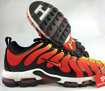 size 40 db381 e0d2f 13 NIKE AIR MAX PLUS TN ULTRA Black Team Orange/Yellow 898015-004 95 Tuned  Air