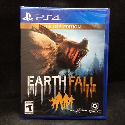 EarthFall [Deluxe Edition] (PlayStation 4) BRAND NEW/ Region Free