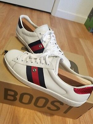 2eeda7ef794 GUCCI ACE SNEAKER With Removable Patch, Size 9 For Men - $259.00 ...