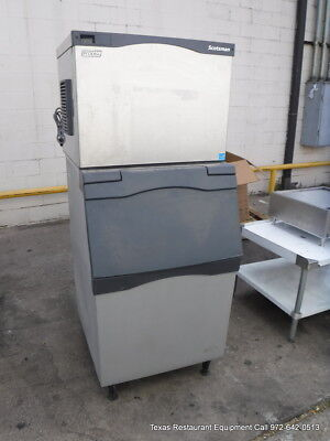 Scotsman Prodigy C0530SA-1C 525 lbs Ice Maker with bin Air Cooled Cube Style