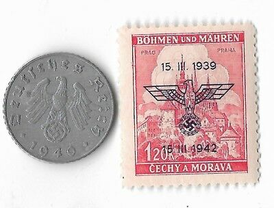 Rare Old German WWII WW2 Germany Eagle Coin Stamp Great War Collection LOT/US:E7
