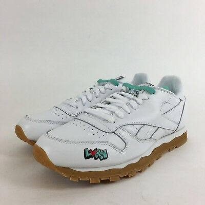 7472533b0b402 Reebok Classic Leather 3AM DV4707 White Red Gum Mens US 9.5 NEW Under Retail