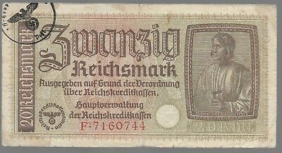 Rare Old WWII Germany Great War Vintage Note Dollar Collection Bill LOT:US-E57