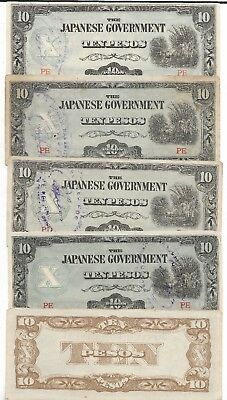 Rare Old Vintage Japanese Invasion Scarce Unique Great Collection Money War Lot