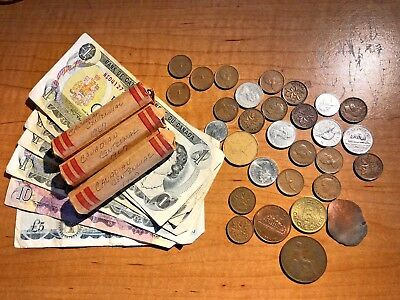 vintage Canadian/British coins lot - about 150 1967 Centennials & mixed bunch NR