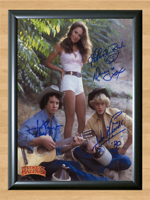 Dukes of Hazzard TV Series Signed Autographed A4 Photo Poster Memorabilia cd dvd