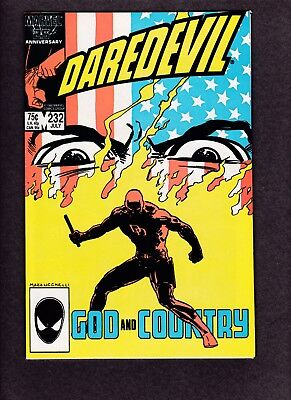 Marvel Daredevil #232  6.5 FN+ 1st Nuke FREE FIRST CLASS SHIPPING