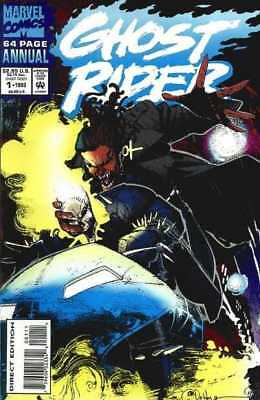 Ghost Rider (1990 series) Annual #1 in Very Fine condition. Marvel comics