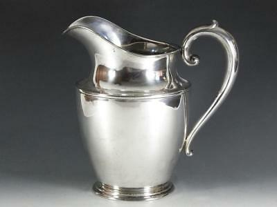 Wallace Sterling Silver Water Pitcher - Excellent; No Monos - 569 grams
