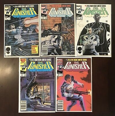 Punisher 1-5 - Limited Series