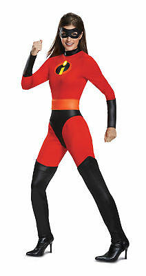 Classic Mrs. Incredible ADULT WOMENS Costume Jumpsuit NEW Incredibles 2