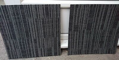 GREY FLOOR CARPET TILES GRADE A 50x50cm (DELIVERY AVAILABLE)