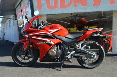 Honda CBR 500 2017 HONDA CBR 500R 1 OWNER NEVER DRIVEN ONLY 42 M 2017 HONDA CBR 500R ONLY 42 MILES!!! NEVER DRIVEN AND BEING SOLD WITH NO RESERVE
