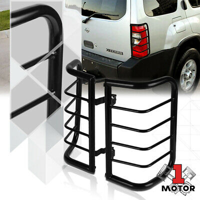 Black Stainless Steel Tail Light/Lamp Guard Protector for 00-04 Nissan Xterra