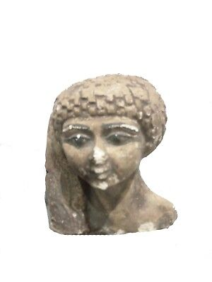 BEAUTIFUL ANTIQUE ANCIENT EGYPTIAN Queen Meritaten 1356-1310 Bc
