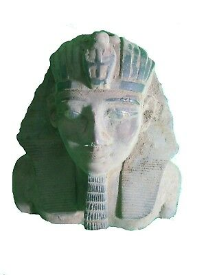 RARE ANTIQUE ANCIENT EGYPTIAN Statue Stone Pharaoh Ramesses II 1279-1213 Bce