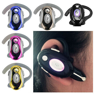 Voice Answer Wireless Bluetooth Headset Stereo Headphone For Car Driver Office