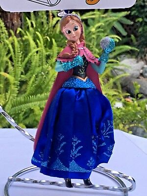"""Disney Store 2017 Anna Sketchbook Holiday Ornament """"Frozen"""" New in Box"""