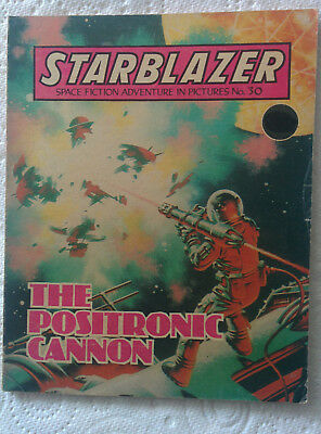 "Starblazer #30 ""THE POSITRONIC CANNON"" published by DC Thomson dated 1980"