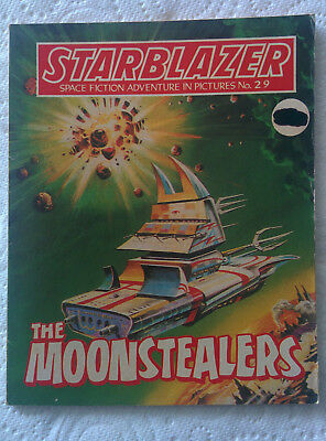 "Starblazer #29 ""THE MOONSTEALERS"" published by DC Thomson dated 1980"